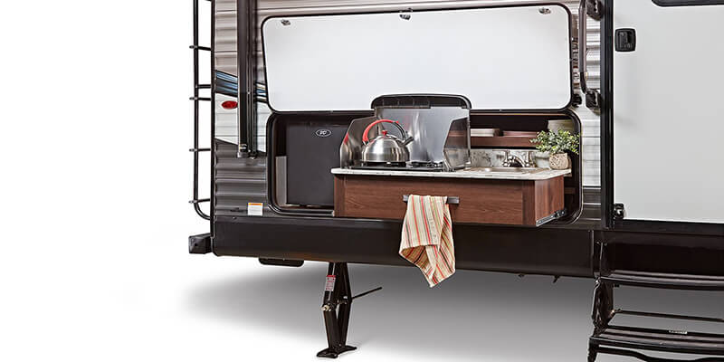 Jayco Jay Flight Outdoor Kitchen