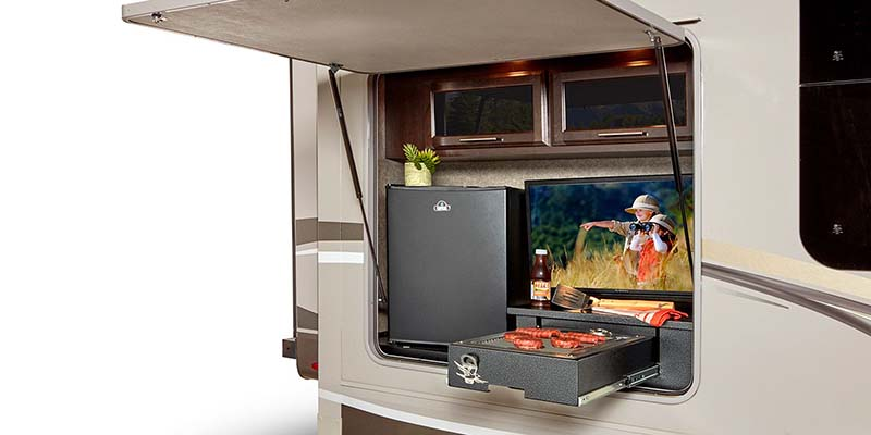 Jayco Eaggle Travel Trailer Outdoor Kitchen