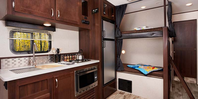 Jayco Pinnacle Fifth Wheel Kitchen