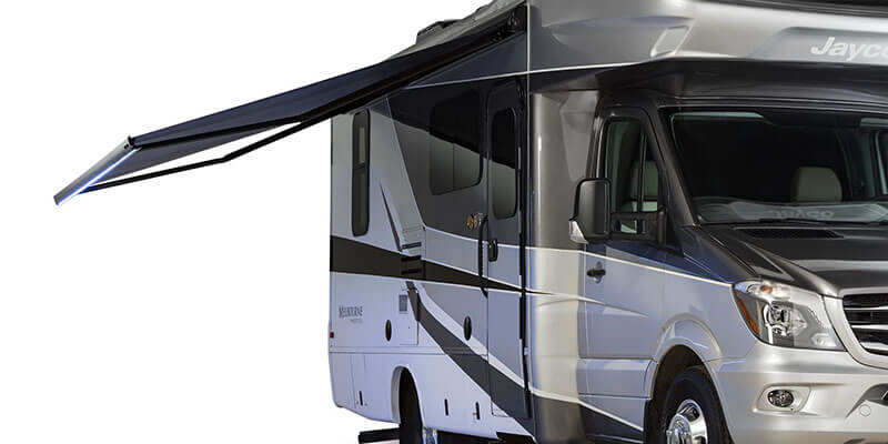 Jayco Melbourne Prestige Motor Home Class C Diesel Canopy