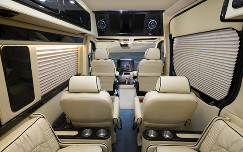 Inside Midwest Automotive Designs Daycruiser Motor Home Class B
