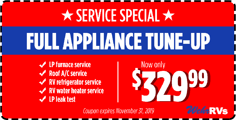Service Special Coupon - Full Appliance Tune-Up