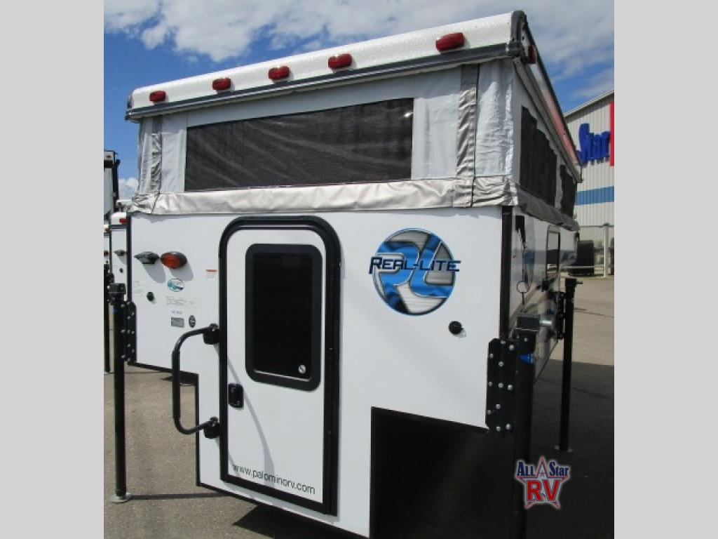 New 2018 Palomino Real-Lite SS-1600 Truck Camper at Western RV