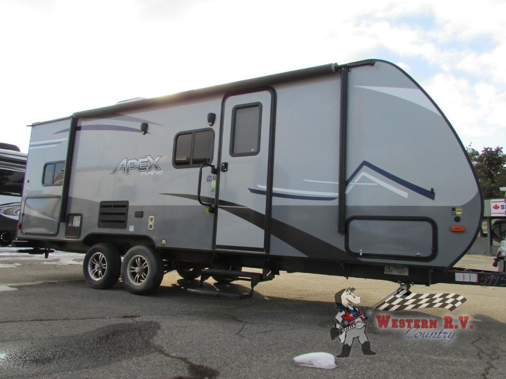 New 2019 Coachmen Rv Apex Nano 208bhs Travel Trailer At