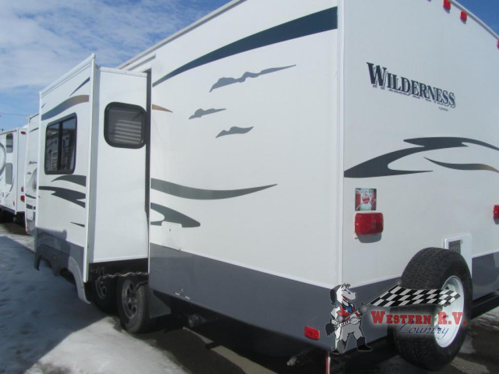 Used 2009 Fleetwood RV Wilderness 260BHS Travel Trailer at Western