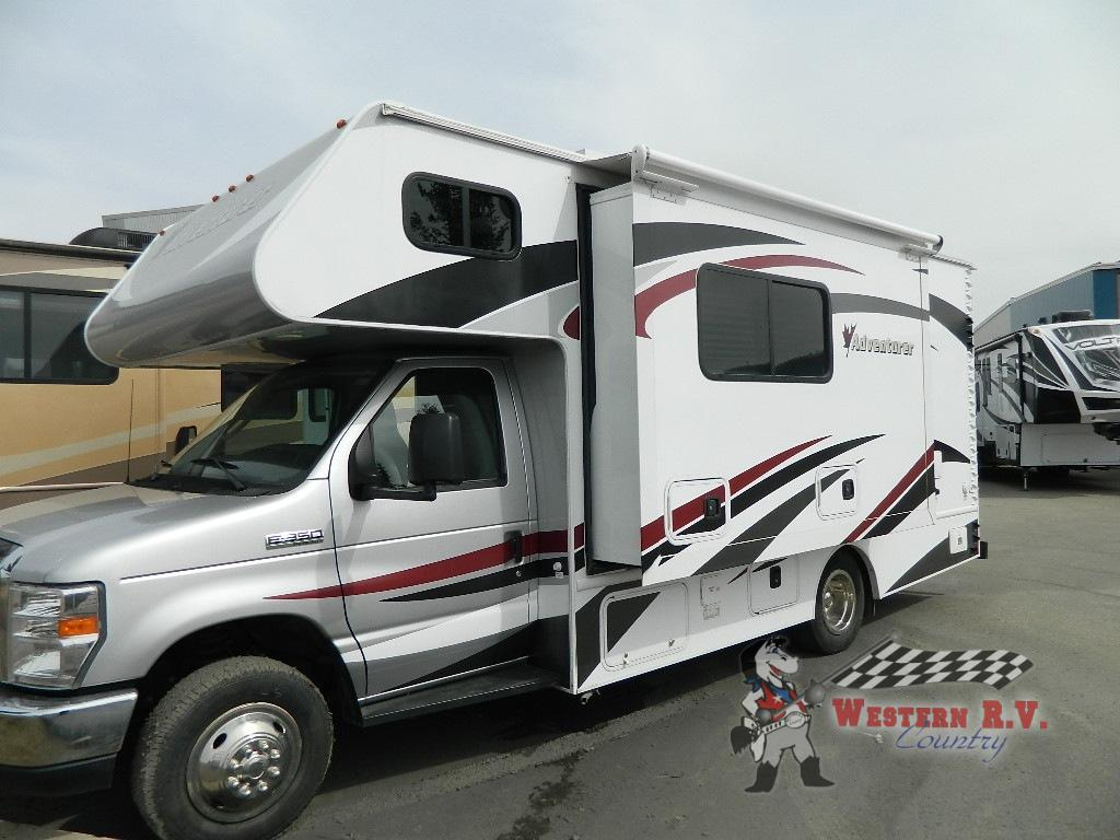 Used 2016 Adventurer 23DS Motor Home Class C - Diesel at