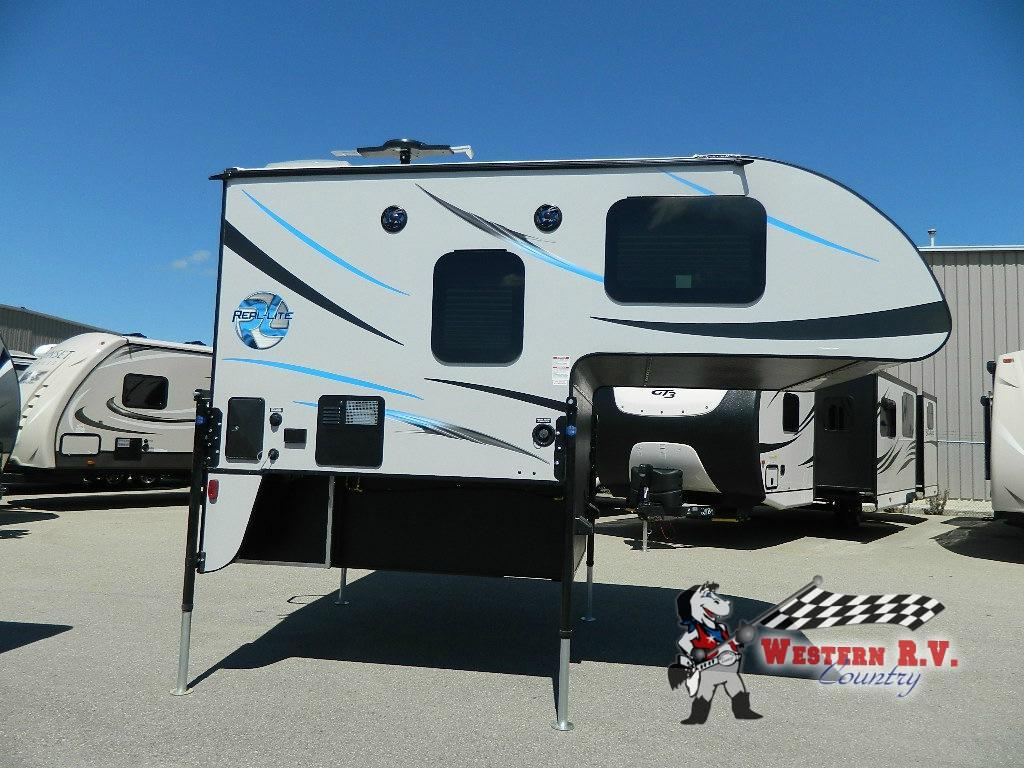New 2018 Palomino Real-Lite HS 1801 Truck Camper at Western RV