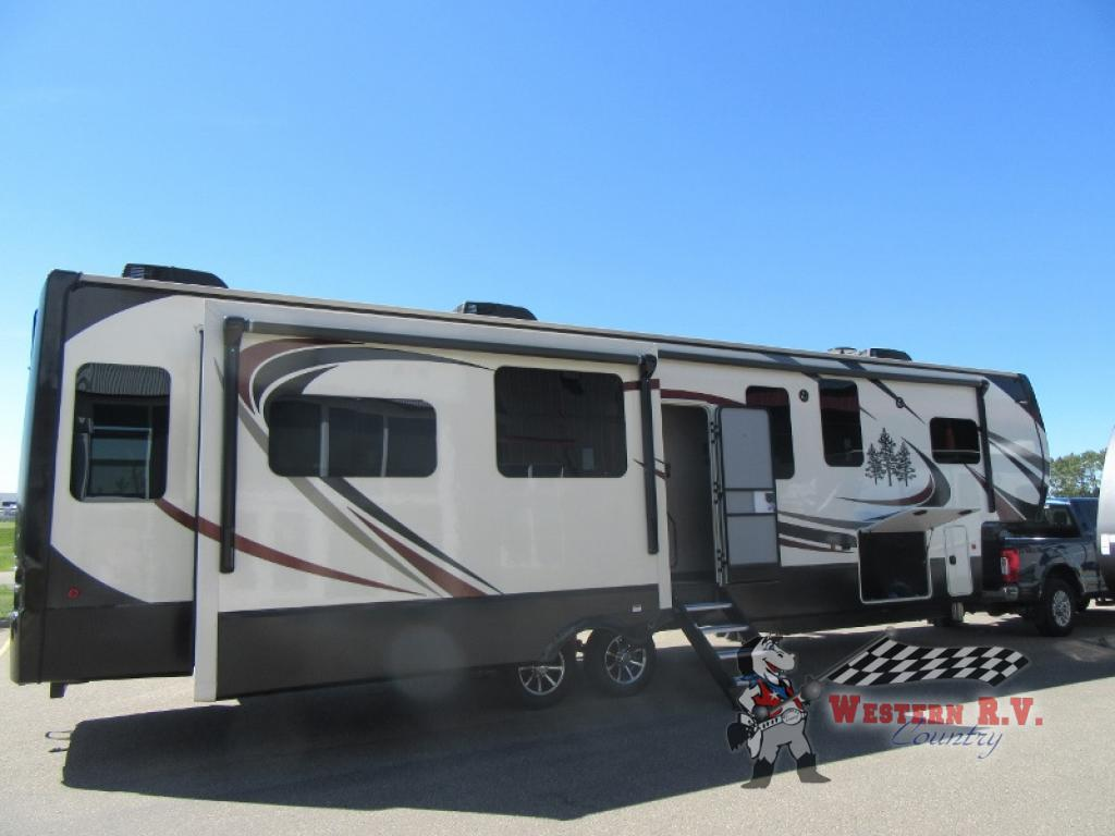 New 2019 Redwood Rv Redwood 3881es Fifth Wheel At Western