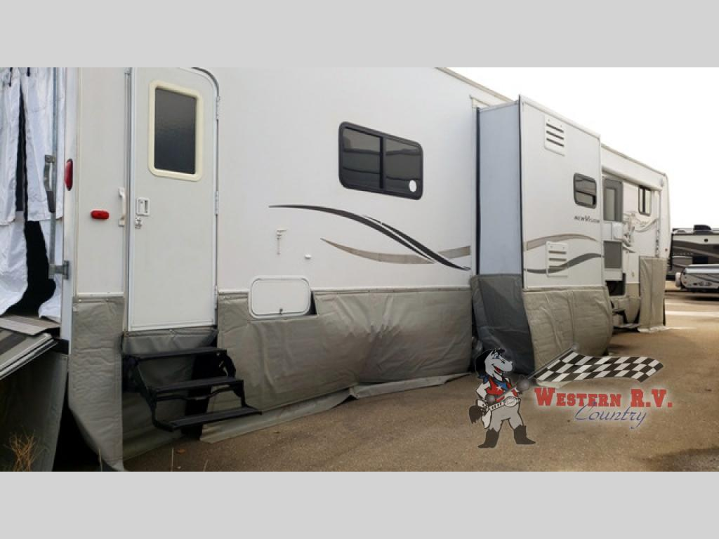Used 2006 Kz New Vision Sportster 41kx2 Toy Hauler Fifth