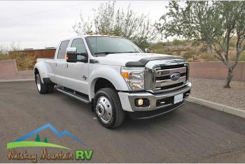 Used 2016 Ford Super Duty F450 Lariat Crew Cab Dually Long Bed 70K Mi Photo