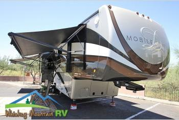 Used 2019 DRV Luxury Suites Mobile Suites 39 DBRS4 - 41' - Full Body Paint Fiberglass Roof 1 Year Warranty Photo