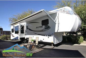 Used 2011 Keystone RV Alpine 3640RL - 38' Triple Slide - Well Maintained - Extremely Clean Photo