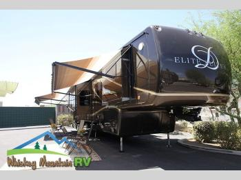 Used 2013 DRV Luxury Suites Elite Suites 38 RESB4 40' Quad Slide Photo