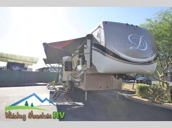 Used 2015 DRV Luxury Suites Mobile Suites 41 RSSB5 - 42' 5 Slides Triple AC Washer Dryer Photo