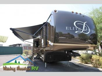 Used 2014 DRV Luxury Suites Elite Suites 38 PS4 - 40' Quad Slide Full Body Paint Fiberglass Roof Photo