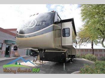 "Used 2013 DRV Luxury Suites Mobile Suites 38 RSSB4 - 40"" Quad slide - Desert Sands Full Body Paint Photo"