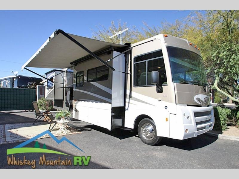34' TRIPLE SLIDE - POWER PATIO AWNING - OUTDOOR ENTERTAINMENT - FIBERGLASS ROOF