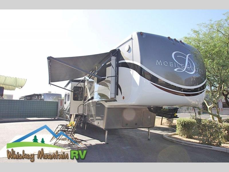 40' QUAD SLIDE POWER PATIO AWNINGS AND SLIDE TOPPER AWNINGS
