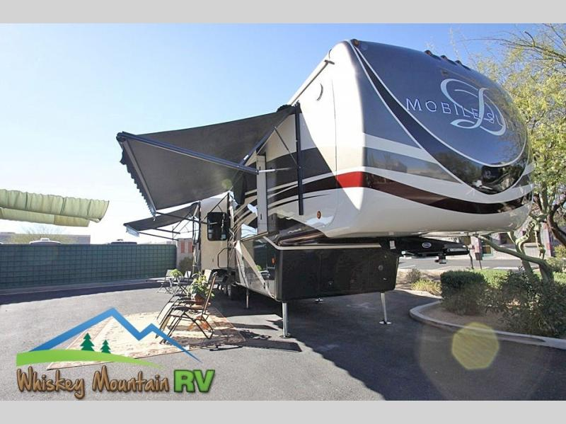 41 FOOT QUAD SLIDE WITH DUAL POWER PATIO AWNINGS
