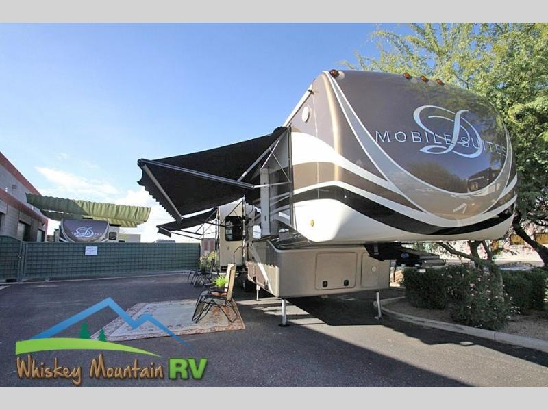 41' QUAD SLIDE - FULL BODY CLEAR COAT - DUAL POWER PATIO AWNINGS