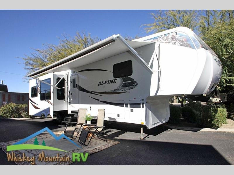38' TRIPLE SLIDE - POWER PATIO AWNING- EXCELLENT CONDITION