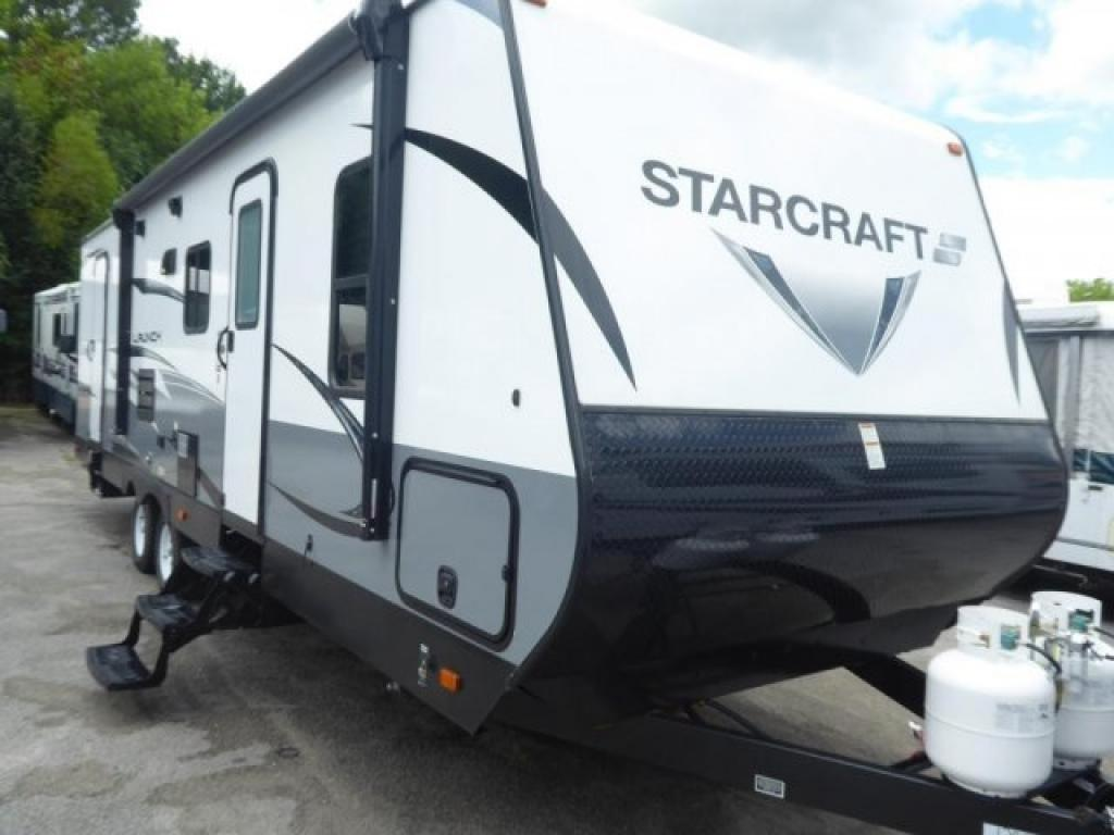 New 2019 Starcraft Launch Outfitter 27BHU Travel Trailer at