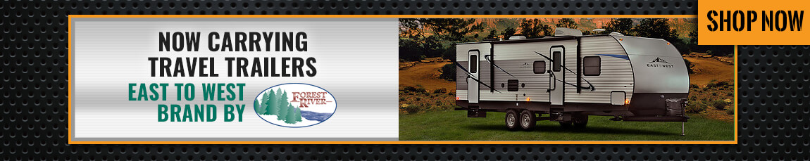 Now selling travel trailers
