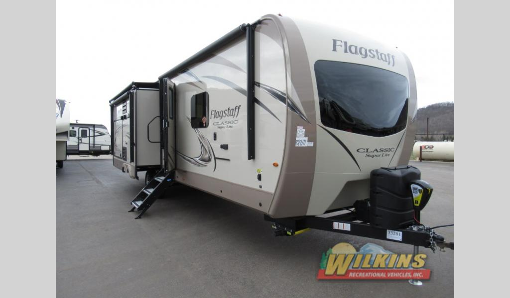 New 2019 Forest River RV Flagstaff Classic Super Lite 832OKBS Travel