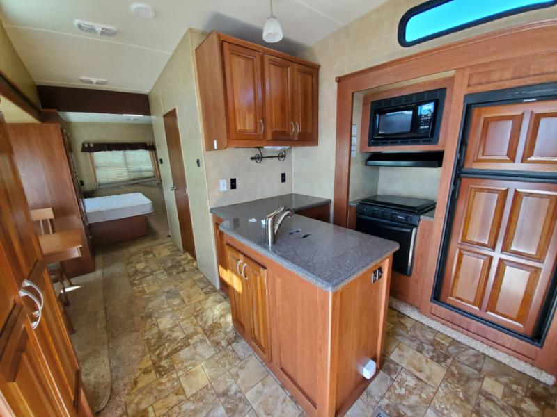 Used 2011 Forest River Rv Wildcat 343fl For Sale 18t3163a