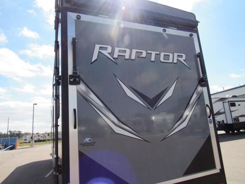 New 2020 Keystone Rv Raptor 354 Toy Hauler Fifth Wheel At