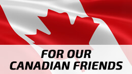 Canadian Flag - Canadian Customers