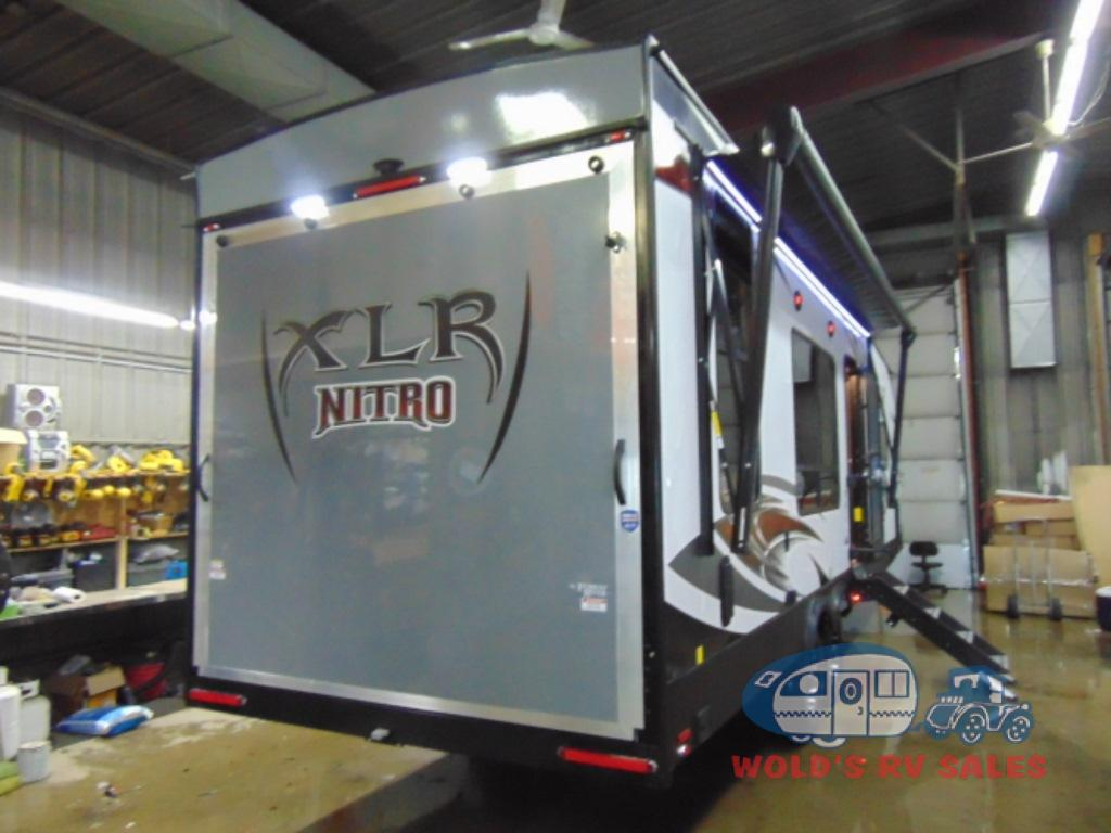 New 2019 Forest River Rv Xlr Nitro 25kw Toy Hauler Travel Trailer At Wiring Diagram For Ntro Next
