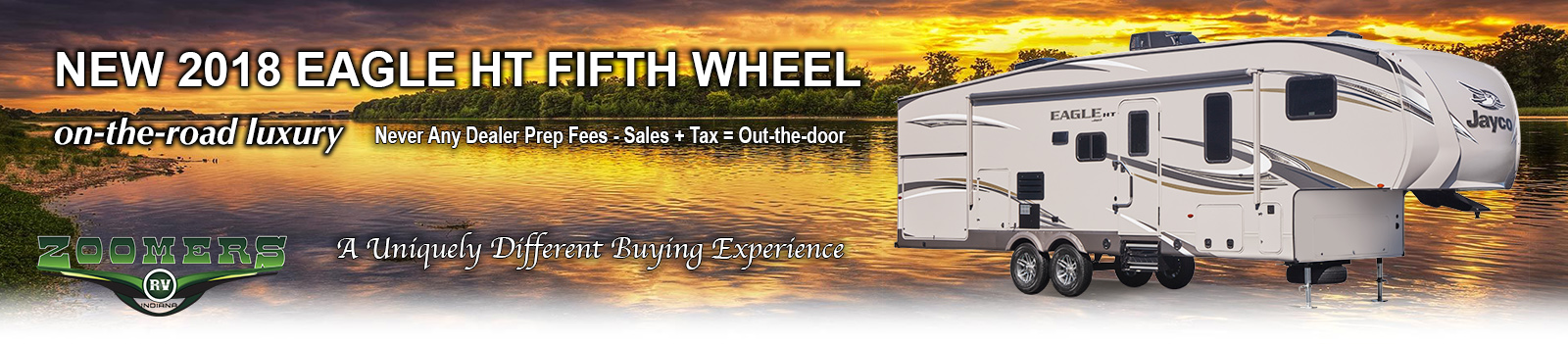 Jayco 2018 %th Wheels