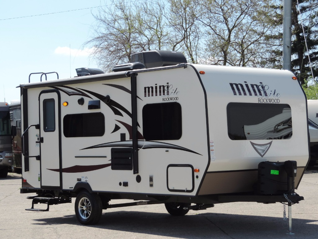 New 2018 Forest River Rv Rockwood Mini Lite 1909s Travel