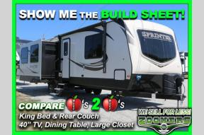 New 2019 Keystone RV Sprinter 319MKS Photo